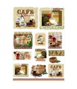 PAPIER DE RIZ CAFE QSIPR232 35X50