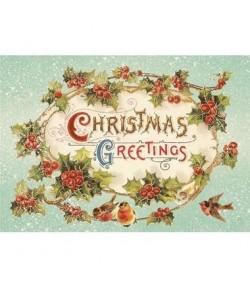 PAPIER DE RIZ A4 CHRISTMAS 21 X 29.7CM DFSA4142