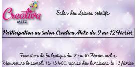 Première participation au salon Creativa de Metz